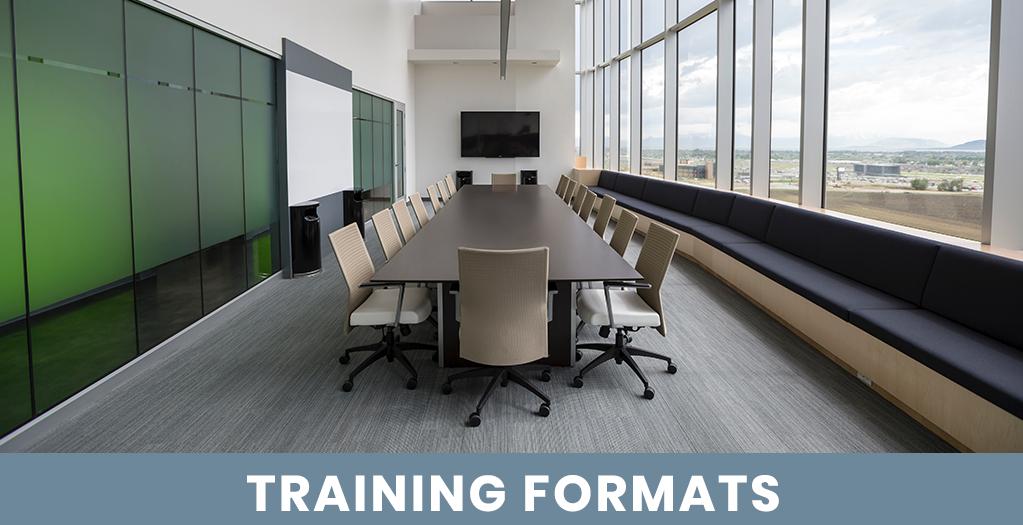 Training Formats